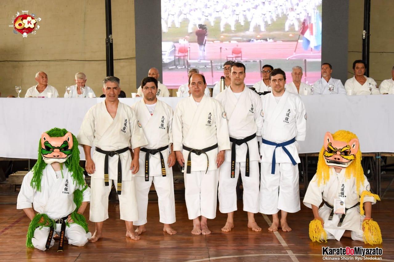 Dojo Mercedes en el Encuentro Mundial de Karate Do Escuela Miyazato, en Córdoba - Noticias Mercedinas
