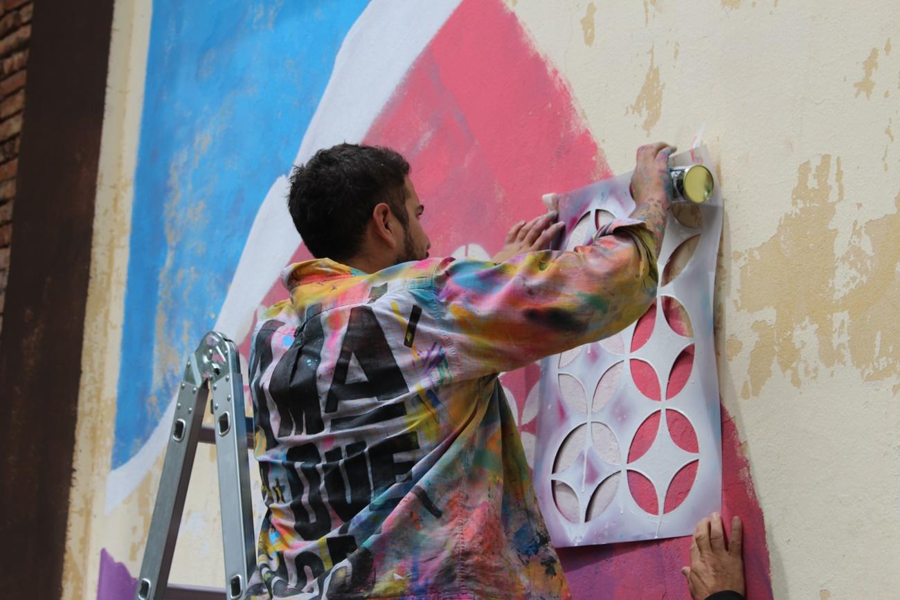 «Mercedes se pinta»: talento y creatividad de artistas mercedinos para embellecer la ciudad - Noticias Mercedinas