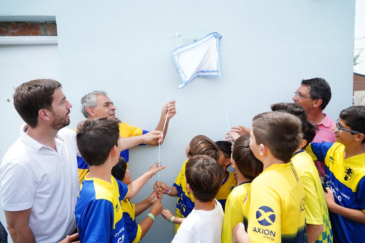 Unión inauguró su nuevo predio - Noticias Mercedinas
